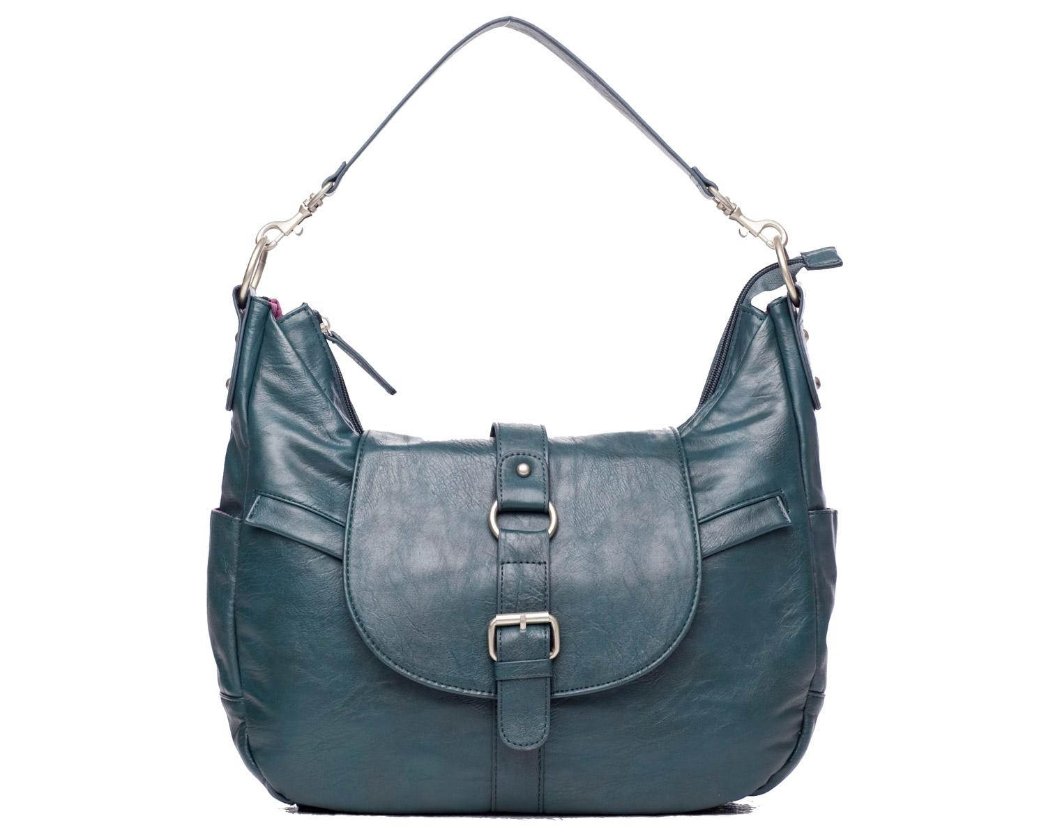 b hobo bag in muted teal by kelly moore stylish camera bags. Black Bedroom Furniture Sets. Home Design Ideas